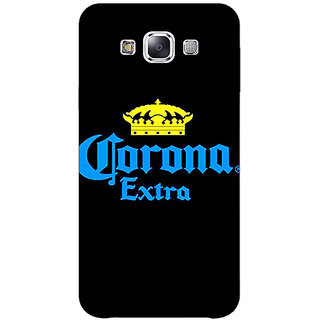 1 Crazy Designer Corona Beer Back Cover Case For Samsung Galaxy E5 C441241