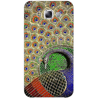 1 Crazy Designer Paisley Beautiful Peacock Back Cover Case For Samsung Galaxy A7 C431586