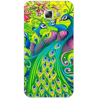 1 Crazy Designer Paisley Beautiful Peacock Back Cover Case For Samsung Galaxy A7 C431596
