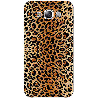 1 Crazy Designer Cheetah Leopard Print Back Cover Case For Samsung Galaxy E5 C440078