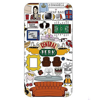 1 Crazy Designer TV Series FRIENDS Back Cover Case For Samsung Galaxy E5 C440342