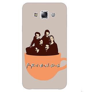 1 Crazy Designer TV Series FRIENDS Back Cover Case For Samsung Galaxy E5 C440343