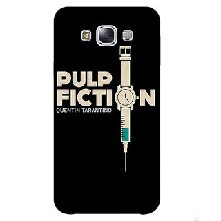 1 Crazy Designer Pulp Fiction Back Cover Case For Samsung Galaxy E5 C440352