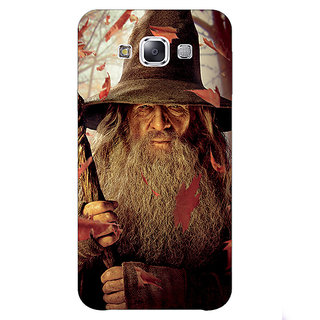 1 Crazy Designer LOTR Hobbit Gandalf Back Cover Case For Samsung Galaxy E5 C440360