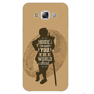 1 Crazy Designer LOTR Hobbit  Back Cover Case For Samsung Galaxy E5 C440368