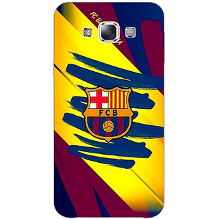 1 Crazy Designer Barcelona Back Cover Case For Samsung Galaxy E5 C440525