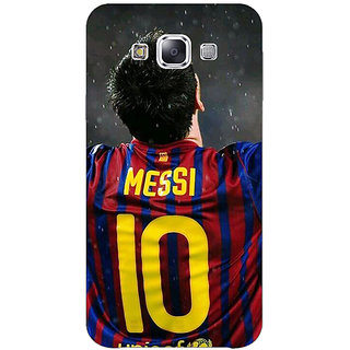 1 Crazy Designer Barcelona Messi Back Cover Case For Samsung Galaxy E5 C440530