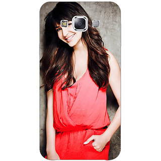1 Crazy Designer Bollywood Superstar Anushka Sharma Back Cover Case For Samsung Galaxy E5 C441031