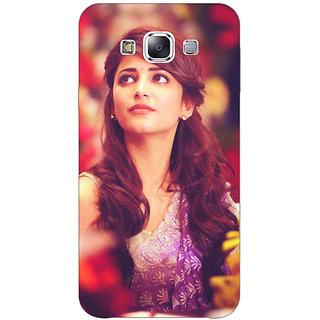 1 Crazy Designer Bollywood Superstar Shruti Hassan Back Cover Case For Samsung Galaxy E5 C441074