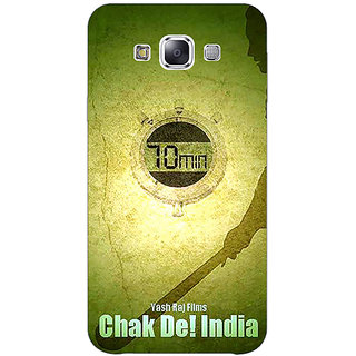 1 Crazy Designer Bollywood Superstar Chak De India Back Cover Case For Samsung Galaxy E5 C441082