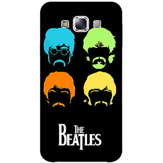1 Crazy Designer The Beatles Back Cover Case For Samsung Galaxy E5 C441083