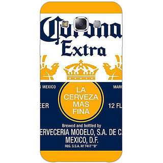 1 Crazy Designer Corona Beer Back Cover Case For Samsung Galaxy E5 C441246