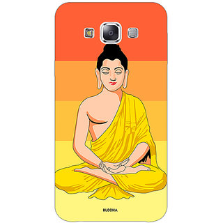 1 Crazy Designer Gautam Buddha Back Cover Case For Samsung Galaxy E5 C441267