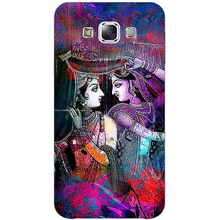 1 Crazy Designer Radha Krishna Back Cover Case For Samsung Galaxy E5 C441279