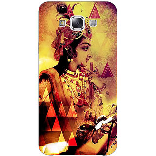 1 Crazy Designer Lord Krishna Back Cover Case For Samsung Galaxy E5 C441280