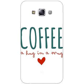 1 Crazy Designer Coffee Quote Back Cover Case For Samsung Galaxy E5 C441299
