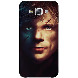 1 Crazy Designer Game Of Thrones GOT House Lannister Tyrion Back Cover Case For Samsung Galaxy E5 C441559
