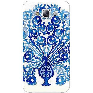1 Crazy Designer Paisley Beautiful Peacock Back Cover Case For Samsung Galaxy E5 C441579