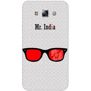 1 Crazy Designer Bollywood Superstar Mr. India Back Cover Case For Samsung Galaxy E5 C441089