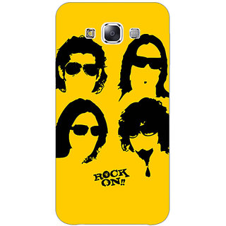 1 Crazy Designer Bollywood Superstar Rock On Back Cover Case For Samsung Galaxy E5 C441098