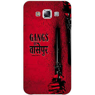 1 Crazy Designer Bollywood Superstar Gangs Of Wasseypur Back Cover Case For Samsung Galaxy E5 C441103