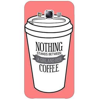 1 Crazy Designer Coffee Quote Back Cover Case For Samsung Galaxy E5 C441315