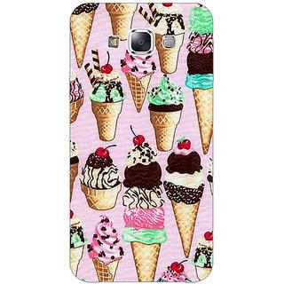 1 Crazy Designer Ice cream Doodle Back Cover Case For Samsung Galaxy E5 C441366