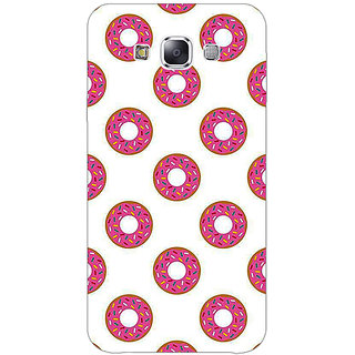 1 Crazy Designer Donut Pattern Back Cover Case For Samsung Galaxy E5 C441384