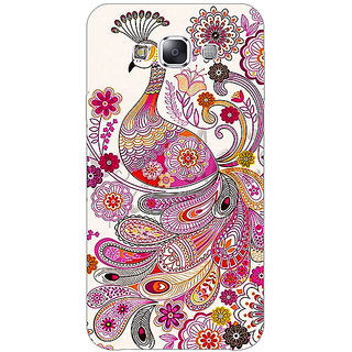 1 Crazy Designer Paisley Beautiful Peacock Back Cover Case For Samsung Galaxy E5 C441584