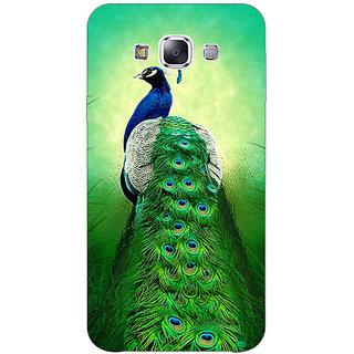 1 Crazy Designer Paisley Beautiful Peacock Back Cover Case For Samsung Galaxy E5 C441599