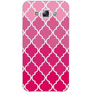 1 Crazy Designer Morocco Pattern Back Cover Case For Samsung Galaxy E5 C441439