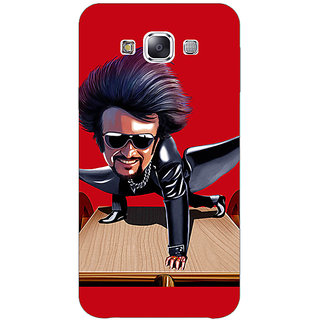 1 Crazy Designer Rajni Rajanikant Back Cover Case For Samsung Galaxy E5 C441487