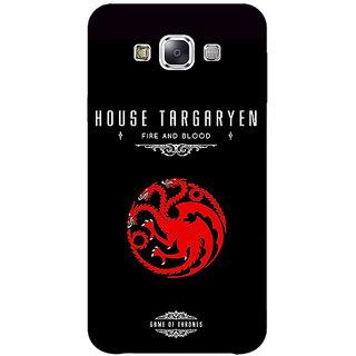 1 Crazy Designer Game Of Thrones GOT House Targaryen  Back Cover Case For Samsung Galaxy A5 C450144