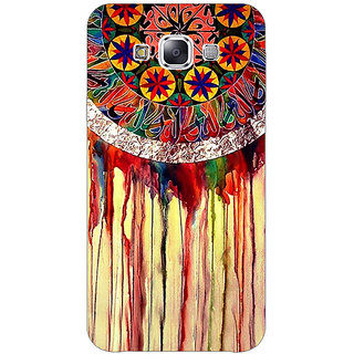 1 Crazy Designer Abstract Dream Catcher Pattern Back Cover Case For Samsung Galaxy E5 C441508