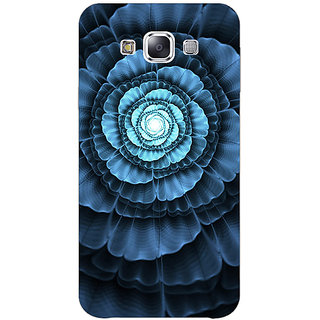 1 Crazy Designer Abstract Flower Pattern Back Cover Case For Samsung Galaxy E5 C441517