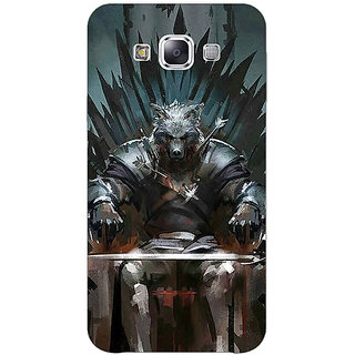 1 Crazy Designer Game Of Thrones GOT Iron Throne King Of The North Back Cover Case For Samsung Galaxy E5 C441533