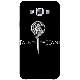 1 Crazy Designer Game Of Thrones GOT Hand Of The King Back Cover Case For Samsung Galaxy E5 C441545