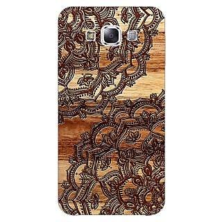1 Crazy Designer Black Brown Doodle Pattern Back Cover Case For Samsung Galaxy A5 C450213