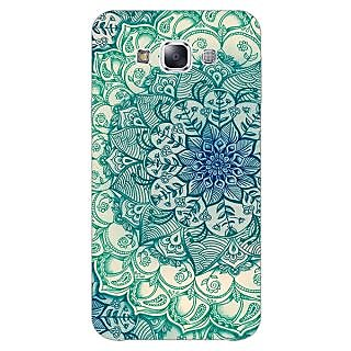 1 Crazy Designer Emerald Doodle Pattern Back Cover Case For Samsung Galaxy A5 C450216