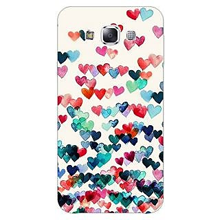 1 Crazy Designer Hearts in the Air Pattern Back Cover Case For Samsung Galaxy A5 C450234