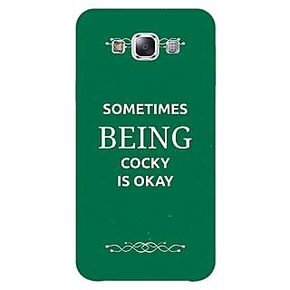 1 Crazy Designer SUITS Quotes Back Cover Case For Samsung Galaxy A5 C450479