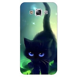 1 Crazy Designer Cute Black Kitten Back Cover Case For Samsung Galaxy A5 C451138