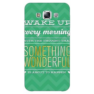 1 Crazy Designer Quotes Something Wonderful Back Cover Case For Samsung Galaxy A5 C451157