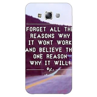 1 Crazy Designer Wise Quote Back Cover Case For Samsung Galaxy A5 C451158