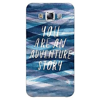 1 Crazy Designer Quotes Adventure Back Cover Case For Samsung Galaxy A5 C451159