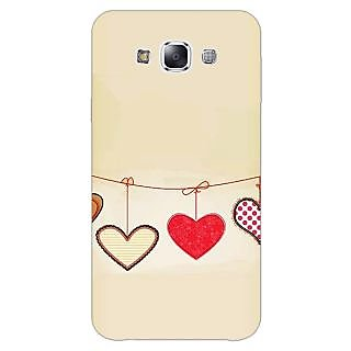 1 Crazy Designer Hearts Back Cover Case For Samsung Galaxy A5 C451406