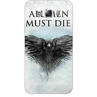 1 Crazy Designer Game Of Thrones GOT All Men Must Die Back Cover Case For Samsung Galaxy E5 C441556