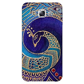 1 Crazy Designer Paisley Beautiful Peacock Back Cover Case For Samsung Galaxy A5 C451589