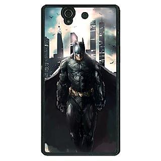 1 Crazy Designer Superheroes Batman Dark knight Back Cover Case For Sony Xperia Z C460013
