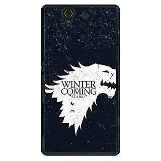 1 Crazy Designer Game Of Thrones GOT House Stark  Back Cover Case For Sony Xperia Z C460135